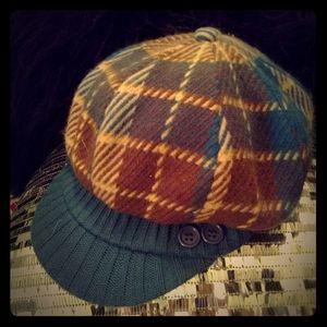 🏅HP🏅🌟3 for $15🌟Dark Teal Patterned Winter Hat